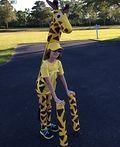 Homemade Giraffe Costume - 2014 Halloween Costume Contest