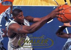 RARE 98/99 FLEER TRADITION SAMAKI WALKER DALLAS MAVERICKS MINT