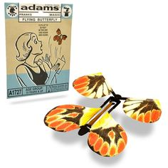 Amazon.com: Adams Pranks and Magic - Flying Butterfly - Classic Novelty Gag Toy: Toys & Games | @giftryapp