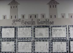 2nd Grade CASTLES   Dali's Moustache This would be great when we do out Cinderella unit.