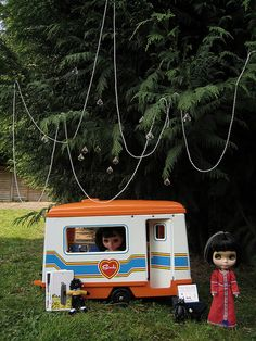 The psychics's famous caravan