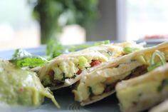 BREAKFAST RECIPES | Easy Breakfast Quesadilla Recipe