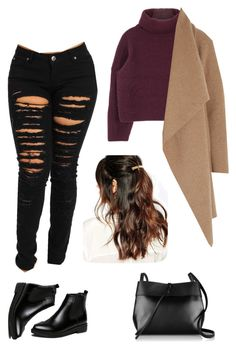 """b**** better have my money"" by esthercookie8 on Polyvore featuring Harris Wharf London, WithChic, Kara and Suzywan DELUXE"