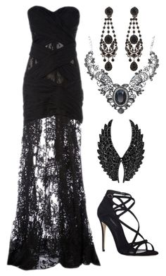 """Untitled #771"" by pandoraslittlebox ❤ liked on Polyvore featuring Zuhair Murad, Givenchy, Plukka and Dolce&Gabbana"