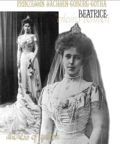 """Beatrice, Princess of Saxe-Coburg-Gotha, fell in love with her first-cousin the Grand-Duke Michael, """"Misha"""", brother of the Czar. Her love was requited but being a weak character, he obeyed his mother who did not want the match, Baby Bee was severely depressed and went to Egypt with her aunts Beatrice and Ena and uncle, (by marriage, Beatrice's husband) Prince Leopold of Battenberg. ROYAL MAGAZIN"""
