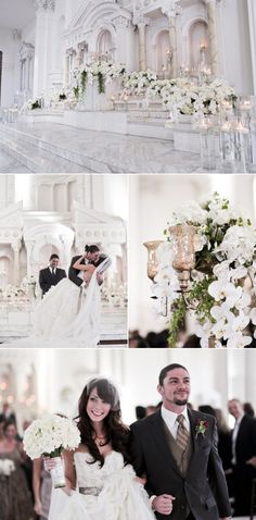 Los Angeles Vibiana Wedding from O.C.D. Events + Fern Lee Photography | Style Me Pretty