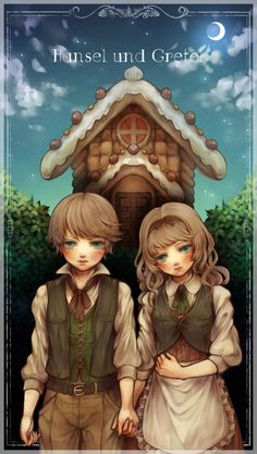 Anime Hansel and Gretel! ^_^