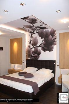 Clipso Print   Wand  Und Deckengestaltung Im Schlafbereich