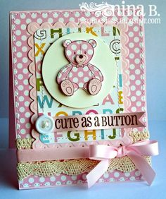 Cute as a Button by NinaB (HR), via Flickr