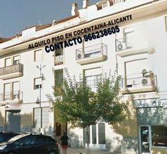 Alquilo piso en Cocentaina-Alicante. Comedor, cocina, dos cuartos de baño completos, tres habitaciones. Todo con balcones a la avenida principal. Soleado y nuevo.