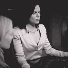 Awesome Regina and Emma (Lana and Jen) Regina telling Emma shhh