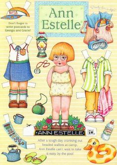 Ann Paper Doll.This From baddubyah - MaryAnn - Picasa Webalbums * 1500 free paper dolls for other Pinterest paper doll pals at Arielle Gabriel's The International Paper Doll Society *