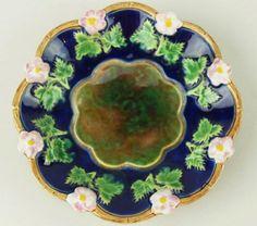 A rare George Jones pickle dish c.1875