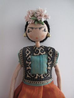 Collector's doll, Frida Kahlo.