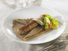 La galett'saucisse Hénaff - Hénaff - leader du marché français des pâtés en conserve, basée à Pouldreuzic dans le Finistère en Bretagne.