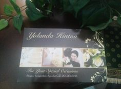 """FOR YOUR SPECIAL OCCASIONS YOLANDA HINTON """"The Lady"""""""