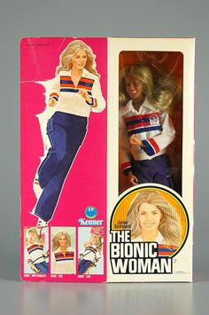 The Bionic Woman doll 1976