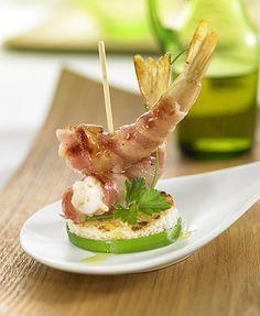 Pincho de bacon y gambas | Delicooks | Good Food Good Life