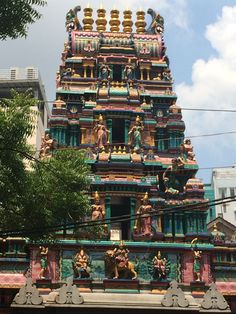 mariamman hindu temple in Ho Chi Minh City