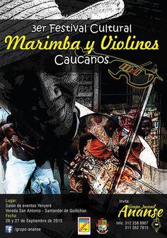 Festival de marimbas y violines caucanos en Santander de Quilichao [http://www.proclamadelcauca.com/2015/09/festival-de-marimbas-y-violines-caucanos-en-santander-de-quilichao.html]