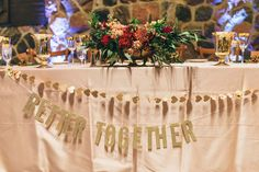 Ruffled - photo by Olive Photography http://ruffledblog.com/woodland-christmas-wedding