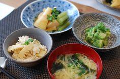 COOKING ROOM 401 (SHIBUYA) mixed rice with a bamboo shoot 竹の子ご飯