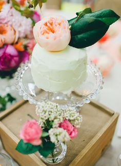 Peach Buttercream Icing - Julie Blanner entertaining & design that celebrates life