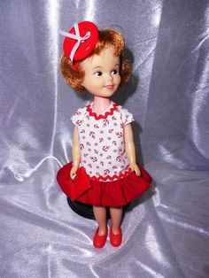 Vintage TOPPER PENNY BRITE ORIGINAL DRESS AND HAIR BOW MADE IN JAPAN EXCELLENT