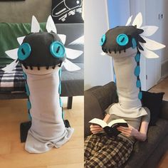 [Self] Casual Wiggler Head from Monster Hunter World (made by me, not modeled by me) : cosplay