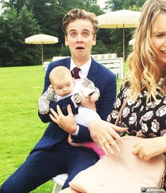 Joe Sugg at Tanya & Jim's wedding.