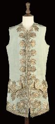 Embroidered Man's Waistcoat, First Half of 18th Century