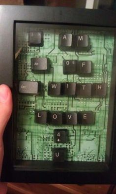 love message using keyboards