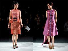 The Clothes Whisperer: the fashion blog with wit that sparkles: Jakarta Fashion Week 2013: Batik  Beyond