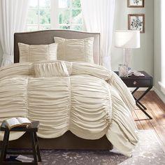 Madison Park Newport Cotton 4-piece Duvet Cover Set - Overstock™ Shopping - Great Deals on Madison Park Duvet Covers