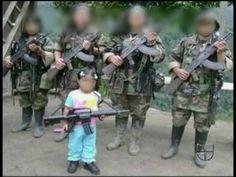 Niños reclutados por las FARC  Children recruited by the FARC