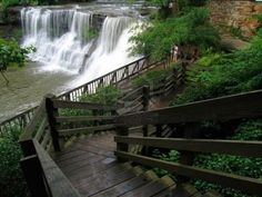 Chagrin Falls, Ohio  Like something straight out of my imagination.