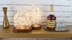 Galaxy Domes are beautiful, mesmerising table lamps that use LEDs to produce an eye-catching visual display. Perfect for romantic or additional lighting. Glass Bell Jar, The Bell Jar, Glass Vessel, Glass Domes, Starry String Lights, Unique Table Lamps, Visual Display, Fireplace Mantle, Light Table