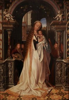 """Virgin With Child"" by Quentin Metsys, c.1509"