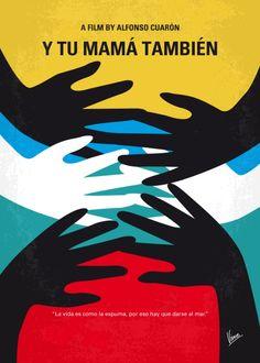 Y Tu Mama Tambien (2001) ~ Minimal Movie Poster by Chungkong #amusementphile