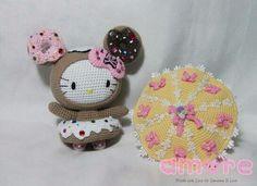 Amigurumi Hello Kitty Donutella
