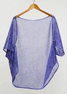 How to make a tunic dress. Diy:  Kaftan Throw Over  - Step 8