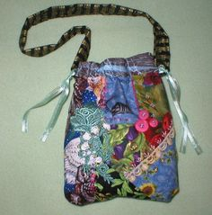 Maggie May Crazy Quilt Bag