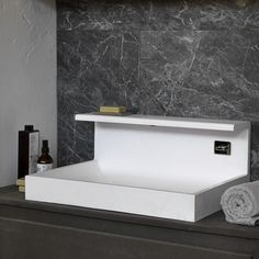 Electrical towel radiator / wall-mounted / glass / rectangular - MIRROR-RECTANGLE by Monica Geronimi - mg12 s.r.l.