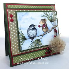 Just4FunCrafts and DoveArt Studios: The Love of a Friend #Stampendous and @House-Mouse Designs®