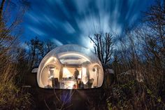 Bubble hotels – clear spherical tents where you can lay your head – are popping up in spots that are perfect for stargazing and catching the Northern Lights.
