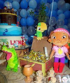 Festa Infantil - Jake e os Piratas da Terra do Nunca. #yzzi