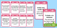This resource covers the useful handy flashcards of Te Reo Māori phrases pertaining to aroha -love. Use them to build your vocabulary and celebrate Te Reo Māori. Free Teaching Resources, School Resources, Teaching Kids, Maori Words, Phrase Book, Interactive Activities, English Translation, Wise Quotes, Vocabulary