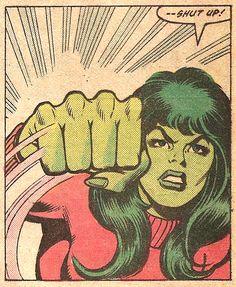 """Shut Up!"" (Avengers #221, 1982) - Bob Hall & Brett Breeding"