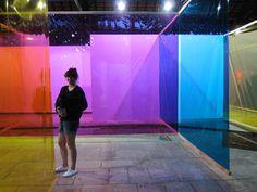 Olafur Eliasson's colour labyrinth, Brasil
