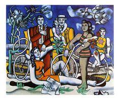 Les Loisirs, c.1948 Kunstdrucke von Fernand Leger bei AllPosters.de